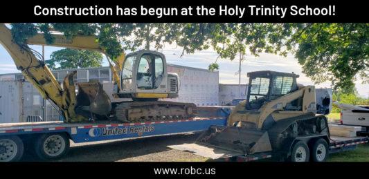 Construction has begun - Feature image